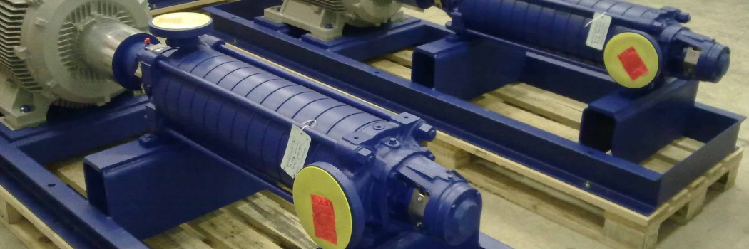 KSB pumps and valves - for energetics, food industry, water supply, construction and safety.